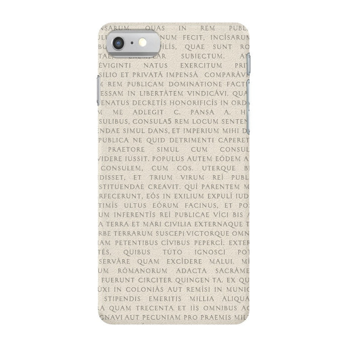 Res Gestae iPhone 7 Case