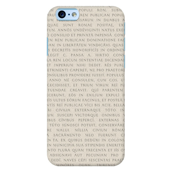 Res Gestae iPhone 6 Case