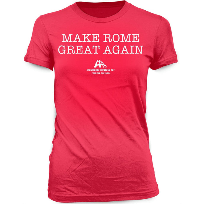 Make Rome Great Again Tee · Red · Womens