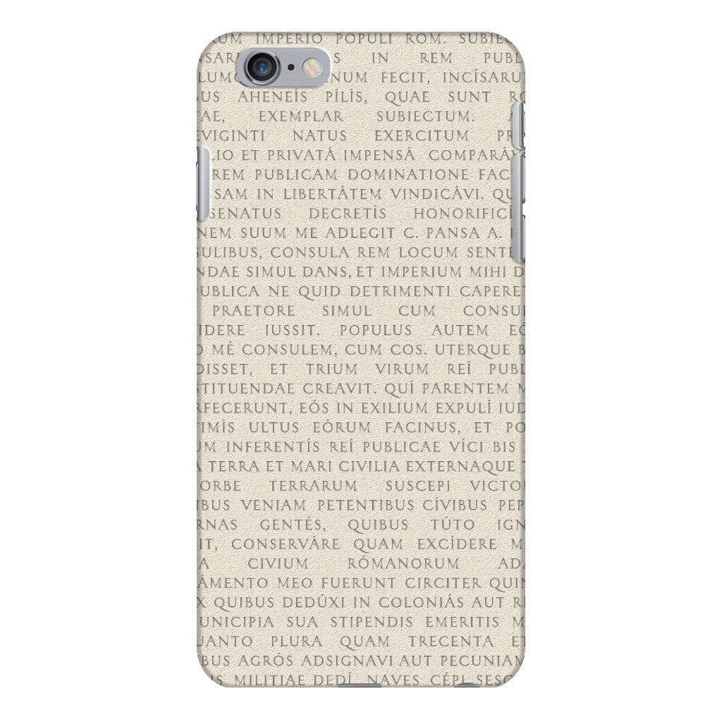 Res Gestae iPhone 6 Plus Case