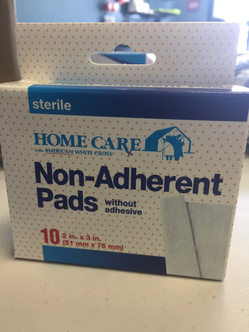 Home Care Non-Adherent Pads w/o adhesive