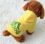 Soft Cotton Dog Coats. 7 Colors XS-4XL