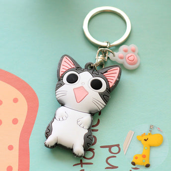 Cute Animal Cartoon Keychain