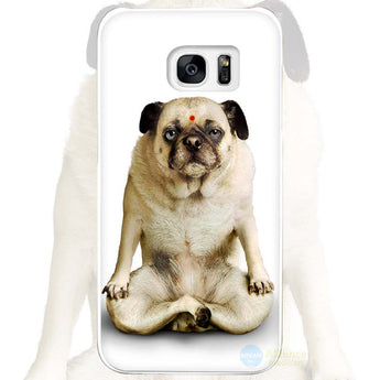 Pug Yoga Meditation Cover for Samsung Galaxy Phone