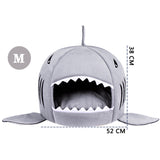 Shark Sleeping Bed - Warm bed for Dogs and Cats (2 sizes)