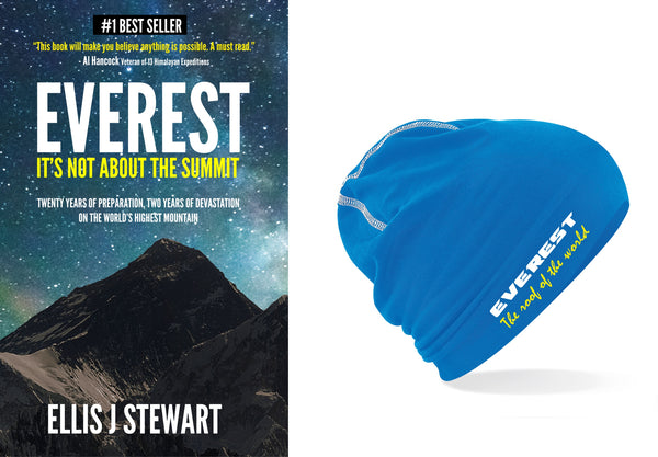 Everest Book & Beanie