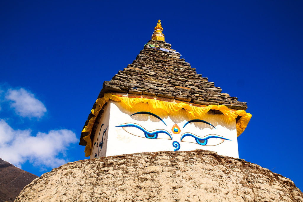 Stupa on the trail to Everest