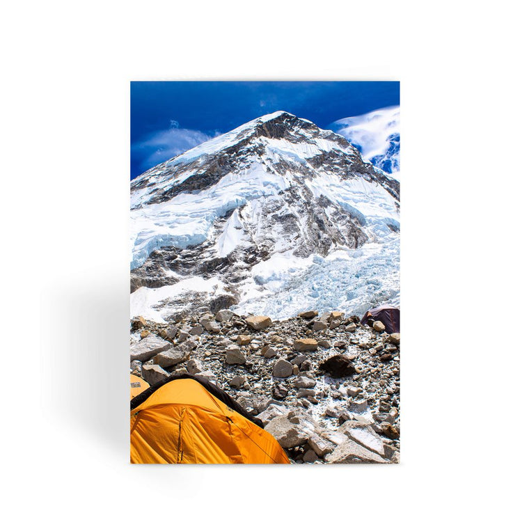 Everest Base Camp Greeting Card