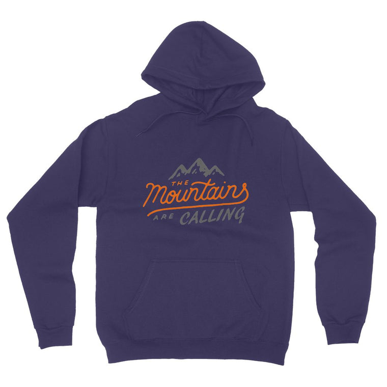 Mountains are Calling Fleece Pullover Hoodie