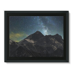 Everest - Book Poster Framed Canvas