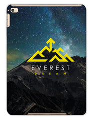 Everest Dream Logo 2020 Apple iPad Cases