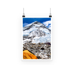 Everest Base Camp Poster
