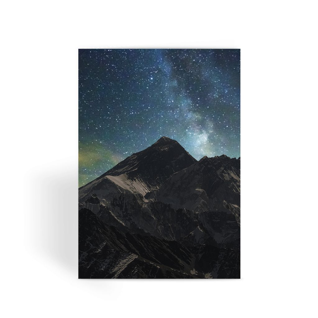 Everest - Book Poster Greeting Card
