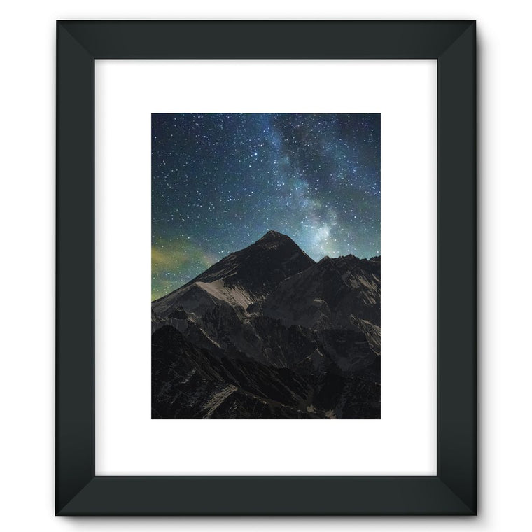 Everest - Book Poster Framed Fine Art Print
