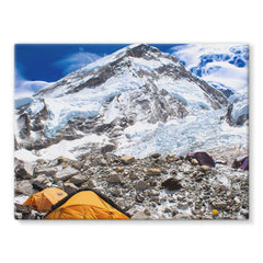 Everest Base Camp Stretched Canvas