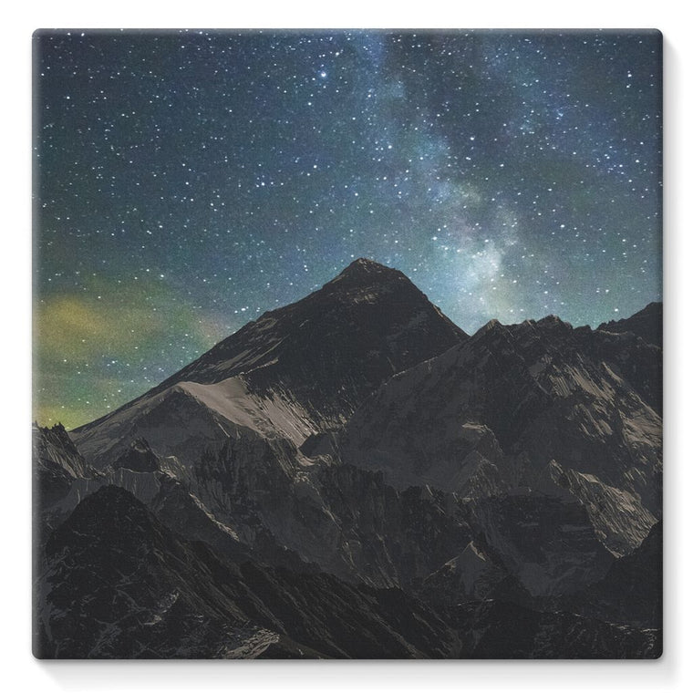 Everest - Book Poster Stretched Eco-Canvas