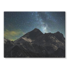 Everest - Book Poster Stretched Canvas