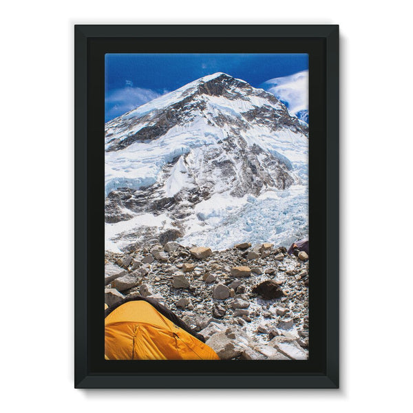 Everest Base Camp Framed Canvas