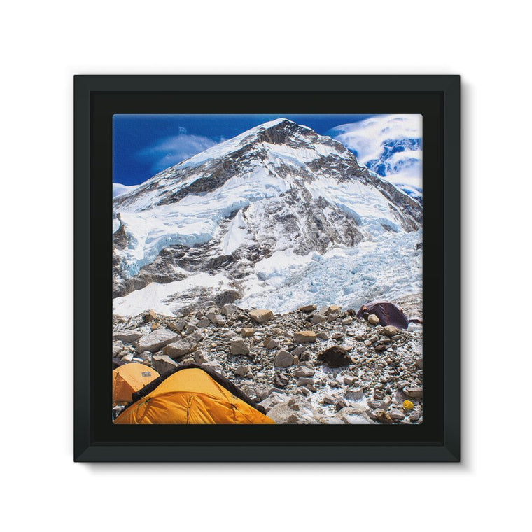 Everest Base Camp Framed Eco-Canvas