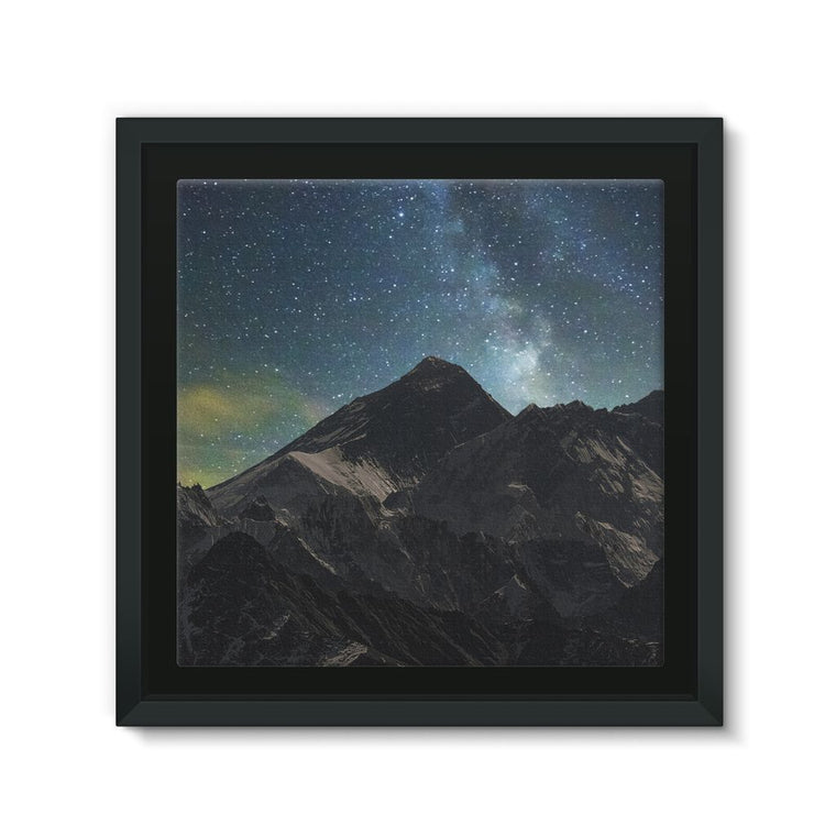 Everest - Book Poster Framed Eco-Canvas