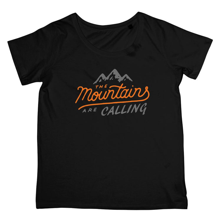 Mountains are Calling Women's Standard T-Shirt