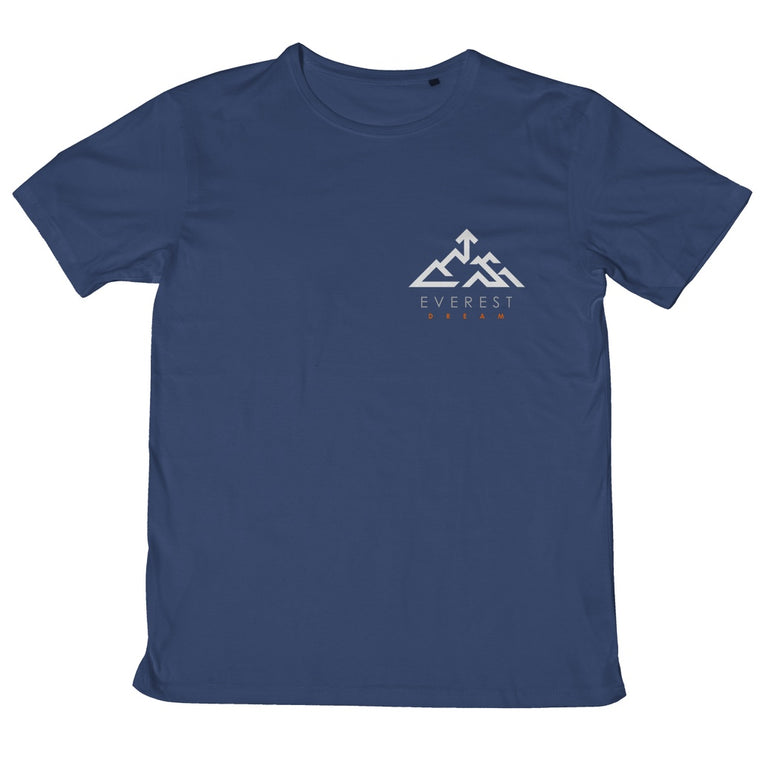 Everest Dream 100% cotton classic logo T-Shirt