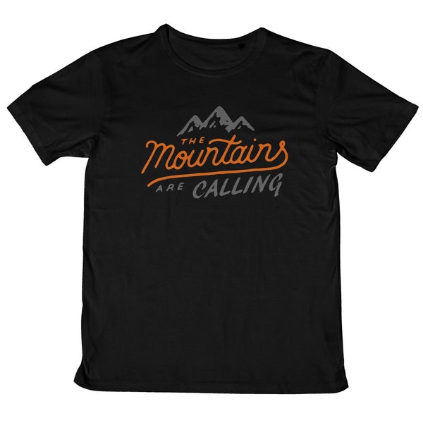 Mountains are Calling Mens Standard T-Shirt