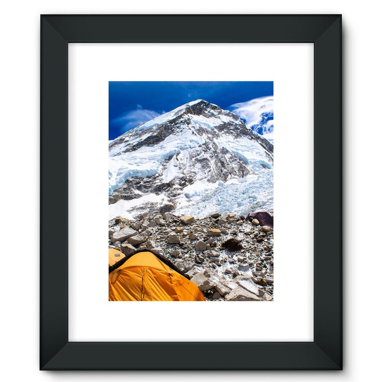 Everest Base Camp Framed Fine Art Print