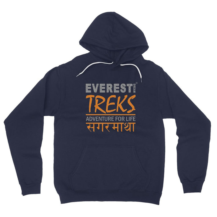 Everest Dream Treks Fleece Pullover Hoodie