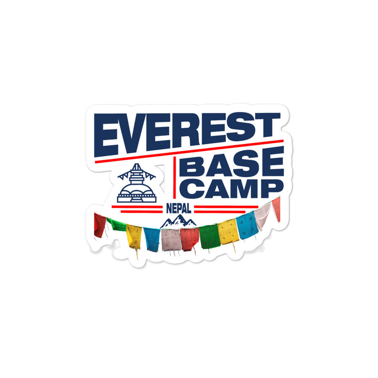 Everest Base Camp Nepal Vinyl Stickers