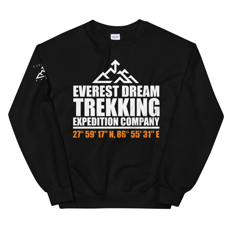 Everest Dream Trekking Expedition Co Unisex Sweatshirt