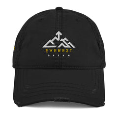 Everest Dream Logo Distressed Style Cap