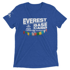 Everest Base Camp Nepal Tri-Blend Short Sleeve T-Shirt