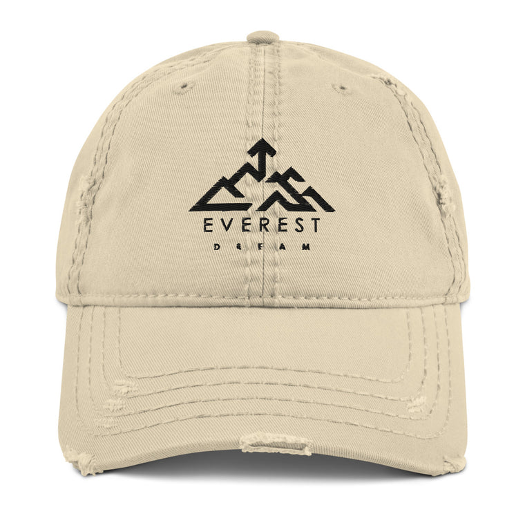 Everest Dream Logo 2021 Distressed Style Cap