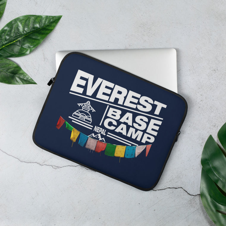 Everest Base Camp Nepal Laptop Sleeve