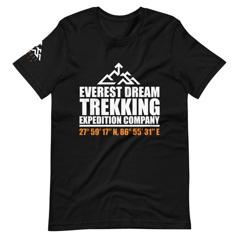 Everest Dream Expedition Trekking Company Unisex T-Shirt