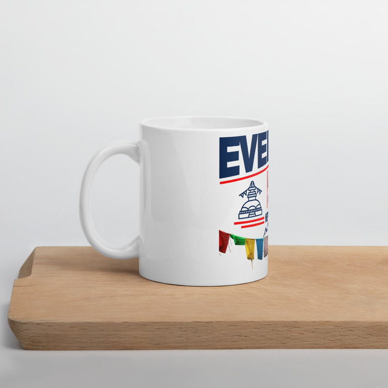 Everest Base Camp Nepal Ceramic Mug