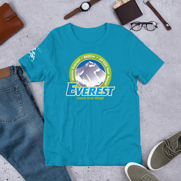 Everest South East Ridge Short-Sleeve Unisex T-Shirt
