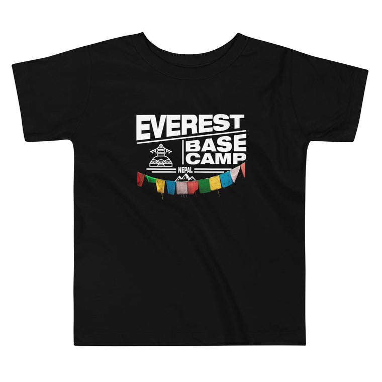 Everest Base Camp Nepal Toddler Short Sleeve Tee