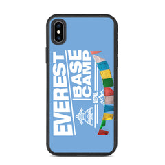 Everest Base Camp Nepal Biodegradable iPhone case
