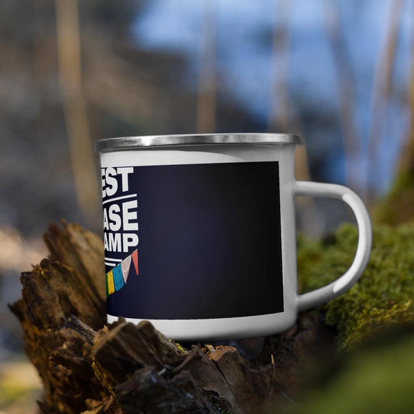 Everest Base Camp Nepal Enamel Mug
