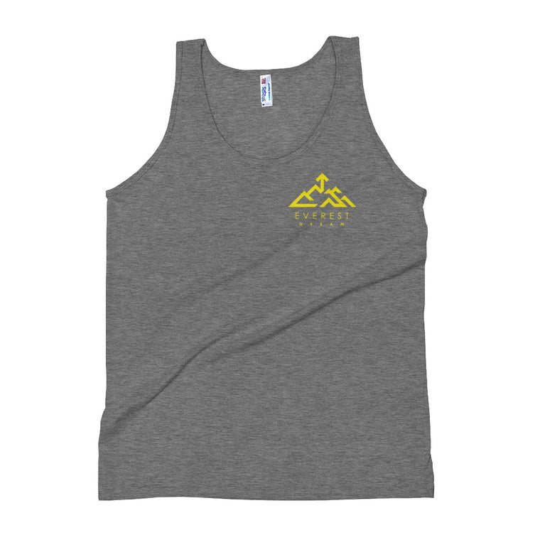 Everest Coordinates Unisex Tank Top