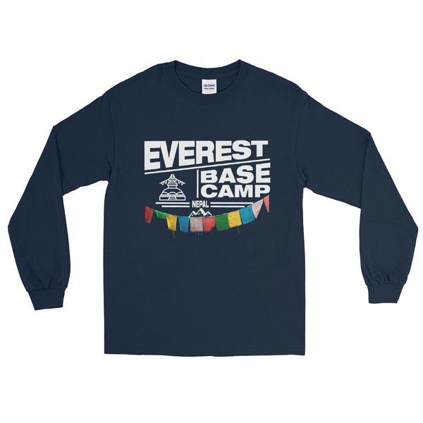 Everest Base Camp Nepal Long Sleeve T-Shirt