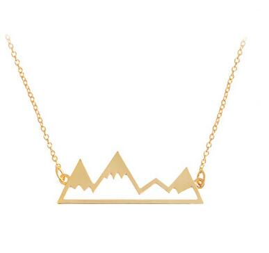 Mountain Tops Copper Necklace