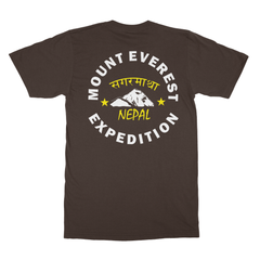 Everest Expedition Nepal Softstyle Ringspun T-Shirt