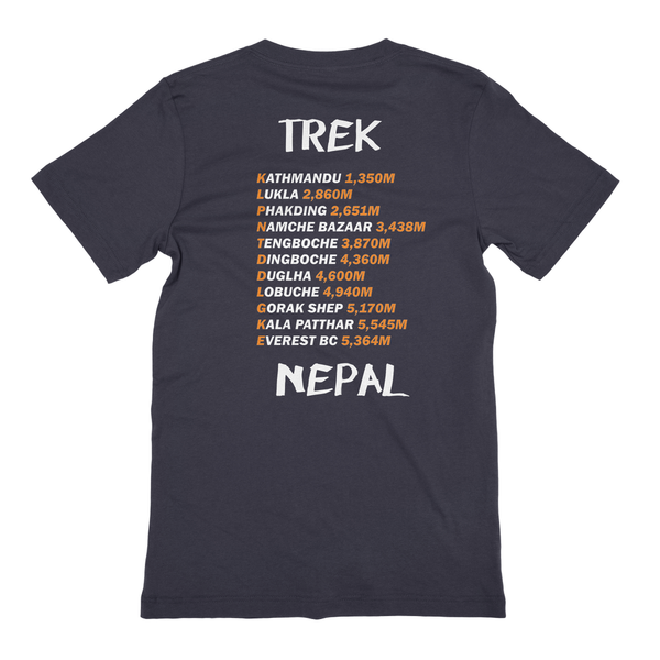 Everest Base Camp Trek Nepal Cotton T-Shirt