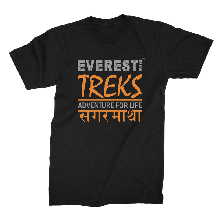 Everest Dream Treks Logo Jersey T-Shirt