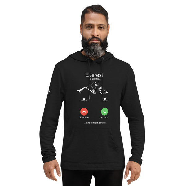 Everest is Calling Unisex Lightweight Hoodie