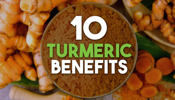 10 Turmeric Benefits