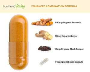 organic turmeric supplements